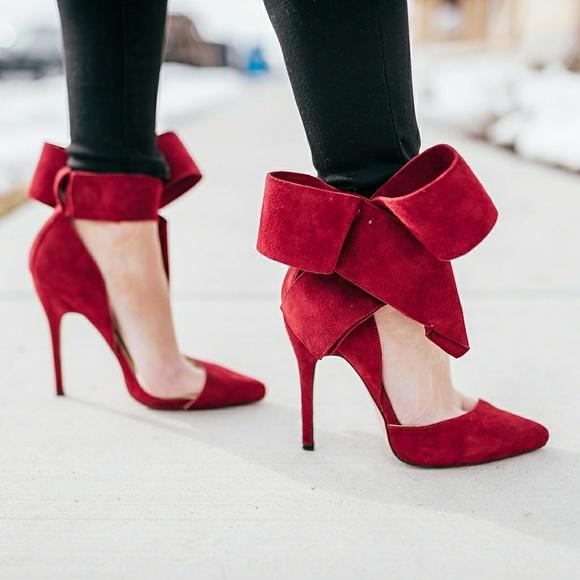 49f90a793df Aminah Abdul Jillil Shoes - Aminah Abdul Jillil Bow Heels